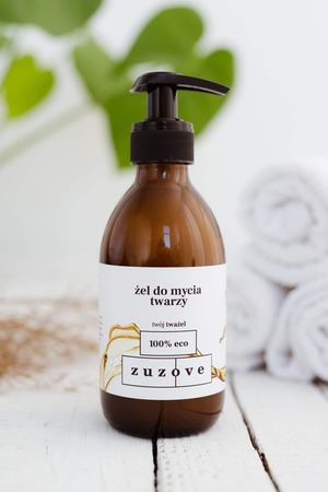 Naturalny żel do mycia twarzy Tważel